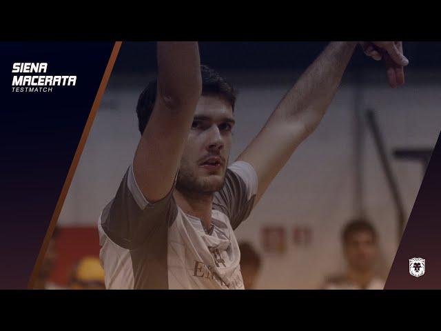 EMMA VILLAS AUBAY SIENA | Testmatch #SienaMacerata - Sebastiano Milan