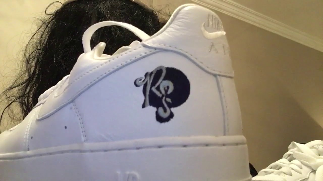 Nike Unboxing Air Force 1 Rocafella Unboxing Nike Sobre Pies Youtube 5e73a0