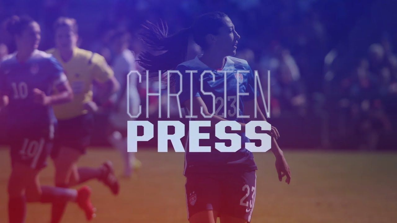 Christen press 2015 uswnt roster video card youtube publicscrutiny Image collections