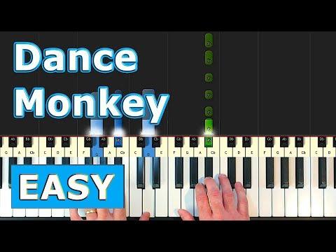 Tones And I Dance Monkey Piano Tutorial Easy Sheet Music Youtube