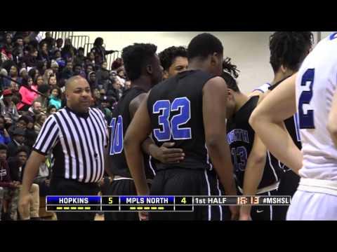 High School Boys Basketball: Hopkins vs. Minneapolis North