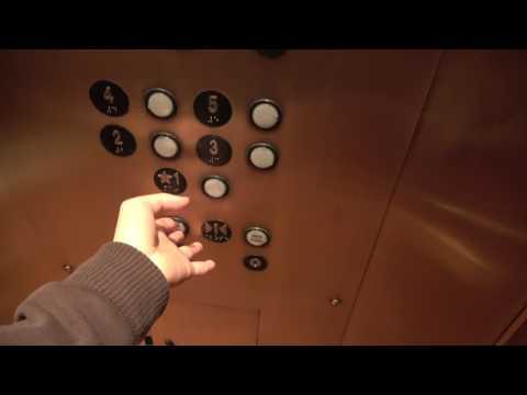 SAN ANTONIO CHEWBACCA! :D  Dover HIGHdraulic Elevator at Omni La Mansion Del Rio