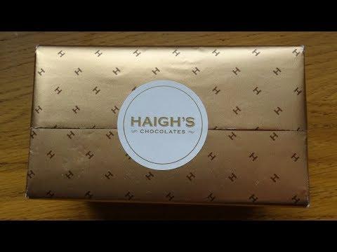 Taste Test ¦ Haigh's Chocolates From Australia