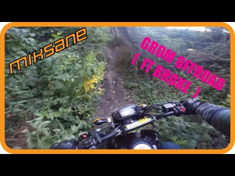 I BROKE MY GROM OFFROADING IN THE JUNGLE!   MikSane