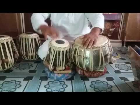 Lavani theka on tabla with verity