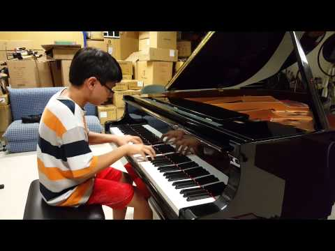 Beethoven Moonlight Sonata 3rd Movement Piano Practice –Pianominion(13 yrs)