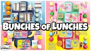 FUN and EASY Lunch Ideas and  What They Ate 🍎 Making YOUR lunches