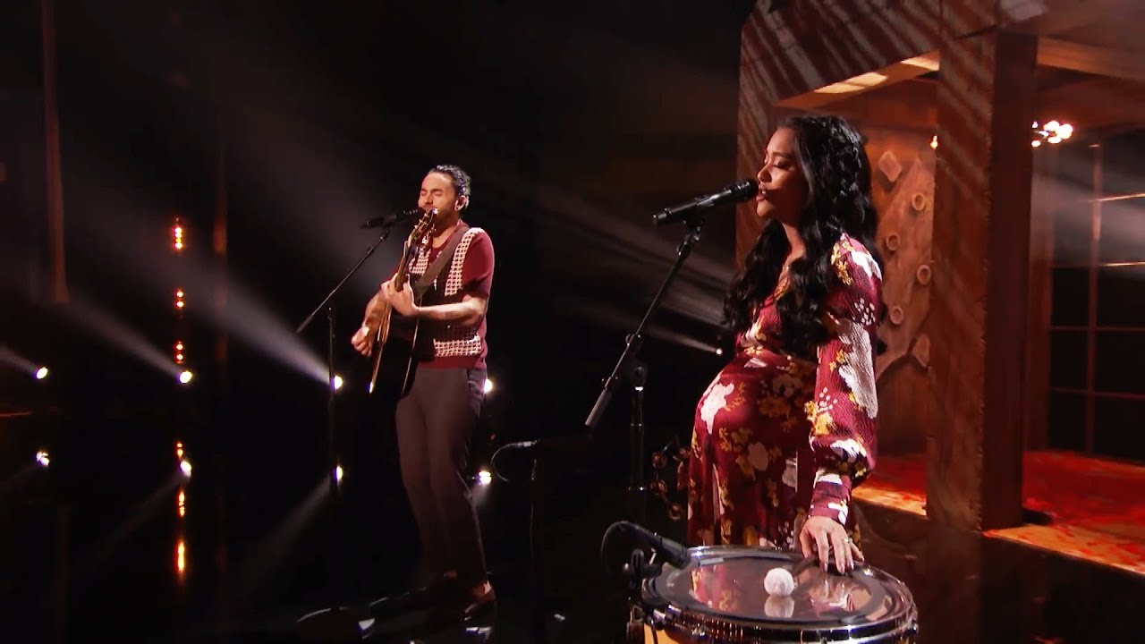 Us The Duo: Married Couple Performs Original Song For Their Baby