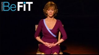 Jane Fonda | Stress-Reducing Meditation Exercise- Firm and Burn