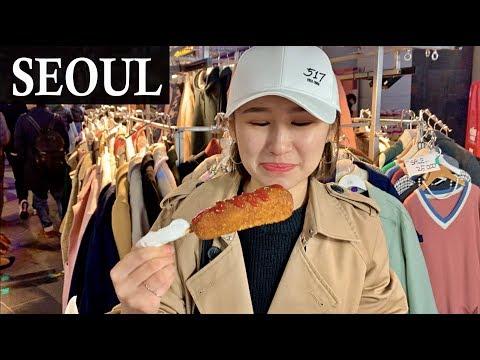 Корейская Уличная Еда и много КОФЕ! || Tolkyn