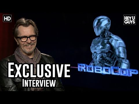 Gary Oldman - Robocop Exclusive Interview