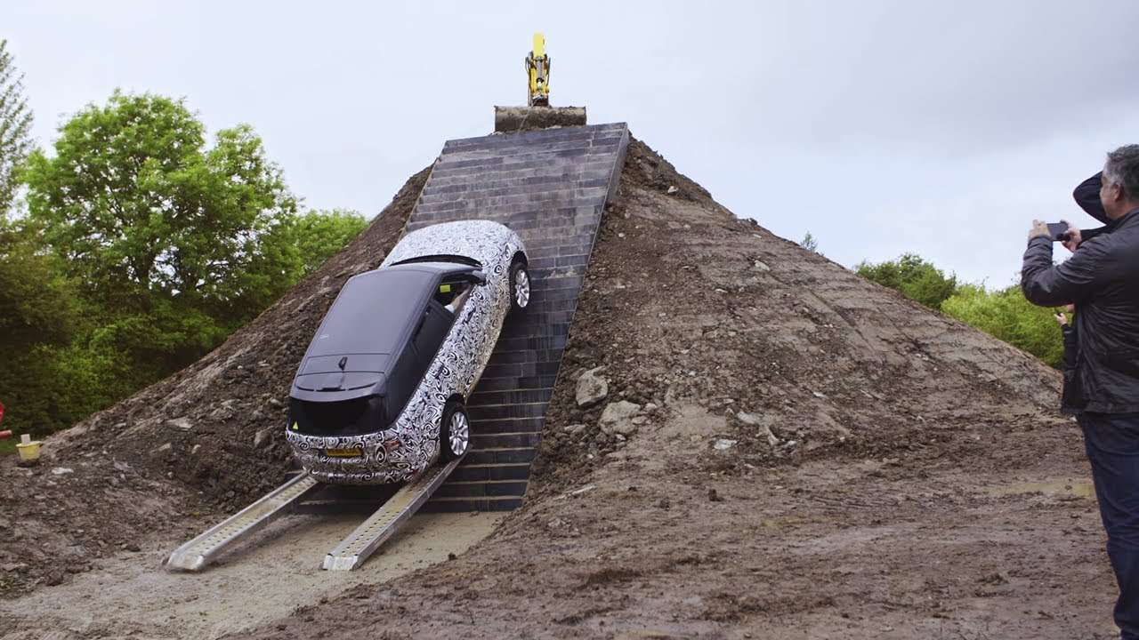 Range Rover Sport - Testing for the Dragon Challenge