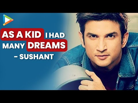 Thumbnail: I've Started From Nothing, ABSOLUTELY Nothing | Sushant Singh Rajput