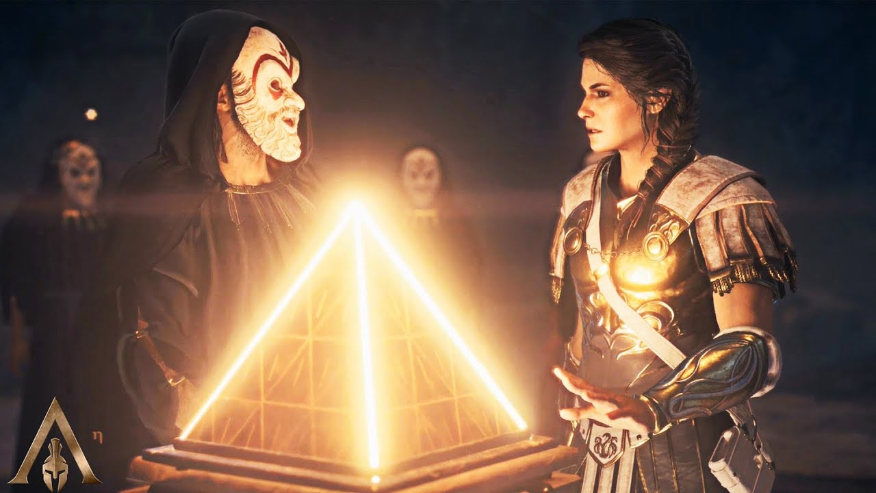 Alexios Meets Kassandra For The First Time Assassin S Creed