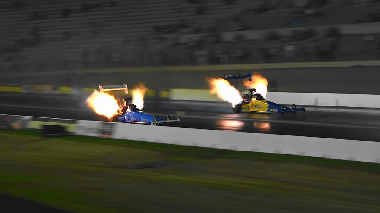 Top fuel drag racing crashes