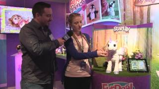 Furreal Friends Star Lily Unicorn And Jj My Jumping Pug At Toy Fair 2015