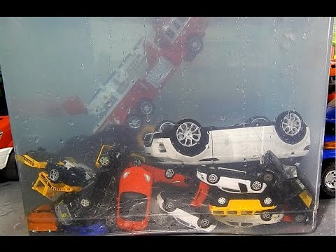 Thumbnail: Toy Cars dive in the water Fun Video for kids