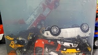 Toy Cars dive in the water Fun Video for kids