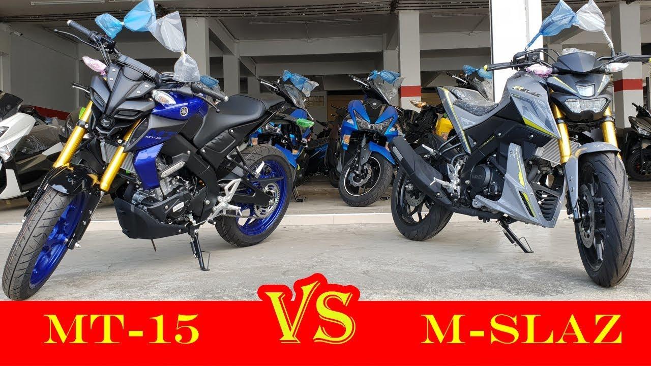 Mt 15 Photo: Yamaha MT-15 VS Yamaha M-Slaz