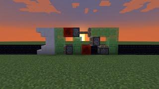 механизмы minecraft 1.8 - Поезд на блоках слизи!