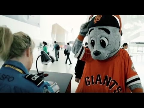 SFO Security Checkpoint Video