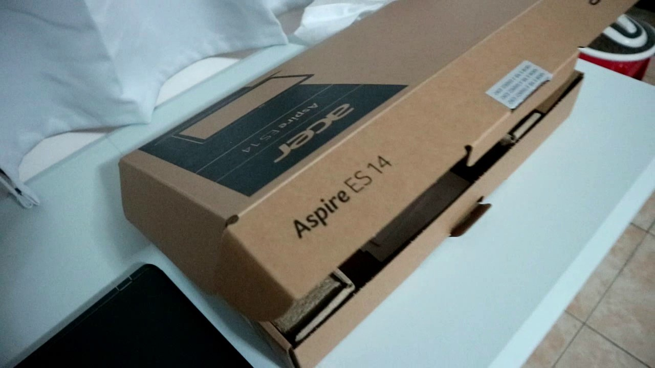 UNBOXING: Acer Aspire ES14