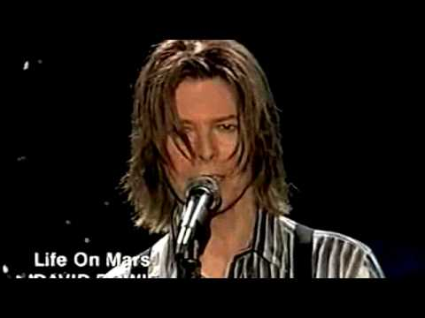 LIFE ON MARS • NET AID 1999 • DAVID BOWIE