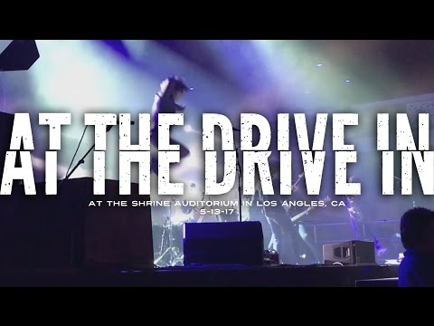 At The Drive In @ The Shrine Auditorium in Los Angeles, CA 5-13-17 [FULL SET]