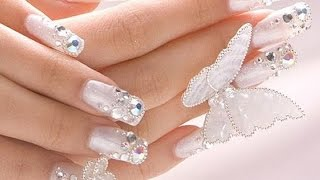 Howto Style:- Wedding Nail Art Designs