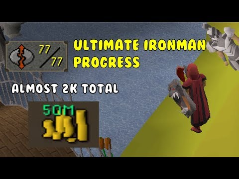 Thumbnail: 2k Total Soon, I can FINALLY drop this | Ultimate Ironman Progress