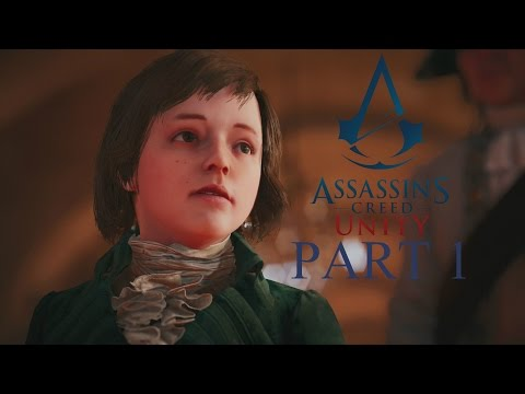 Assassin's Creed Unity - Part 1 - Memories of Versailles - (Sequence 1) (PS4) (1080p)