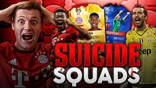 FIFA 16 - INSANE RECORD BREAKER BUFFON & ST ALABA SUICIDE SQUADS!!!