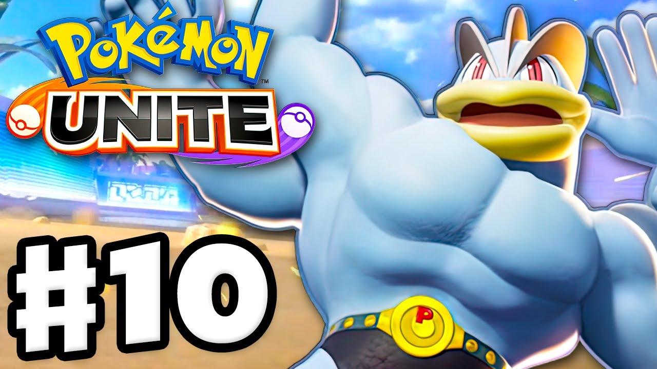 Machamp! We Can Still Win This! - Pokemon Unite - Gameplay Walkthrough Part 10 (Nintendo Switch)