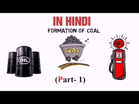 formations of fossil fuels in hindi