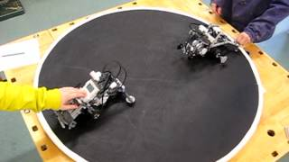 Lego mindstorms NXT sumo battle