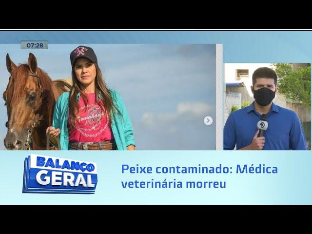 Peixe contaminado: Médica veterinária que morreu após comer peixe se formou em Alagoas