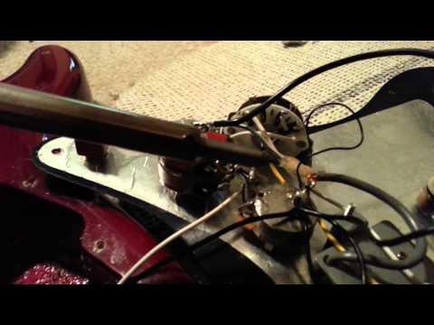 DIY fix - guitar repair - Fixing excessive hum - fixing bad grounds