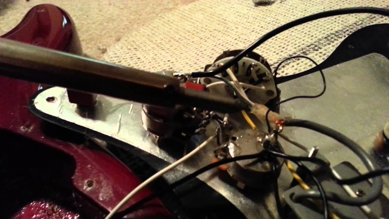 Diy Fix Guitar Repair Fixing Excessive Hum Bad Grounds Using Live Wire Cable Diagram