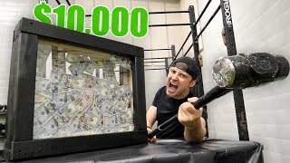 $10,000 IF YOU CAN BREAK THIS!! (UNBREAKABLE GLASS CHALLENGE) thumbnail
