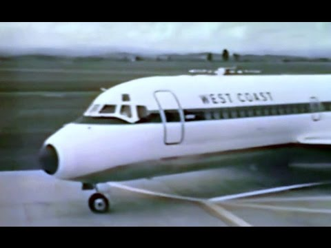 West Coast Airlines Promo Film - 1967