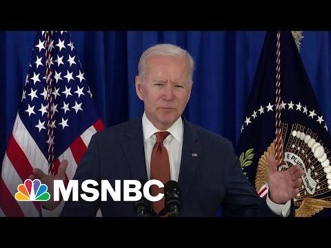 Biden Praises 'Historic Progress' Shown In May Jobs Report