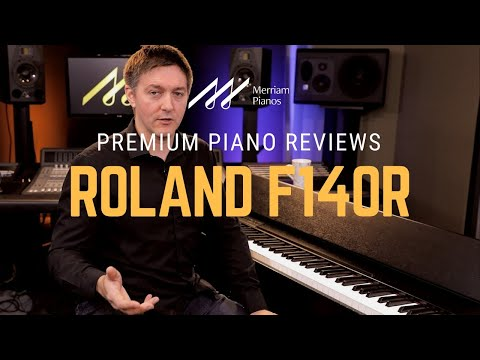 🎹Roland F140R Digital Piano Review and Demo | Piano Apps, Bluetooth, Smartphone Connectivity🎹