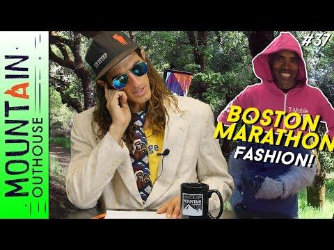 MOUNTAIN OUTHOUSE - Lake Sonoma 50 Recap, Hawk's Zion FKT, Boston Marathon Fashion