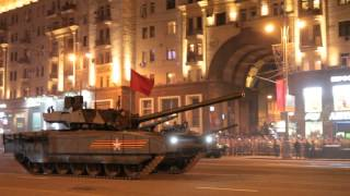 Москва, ночная Репетиция парада Победы, 04.05.2015 военная техника. 6318