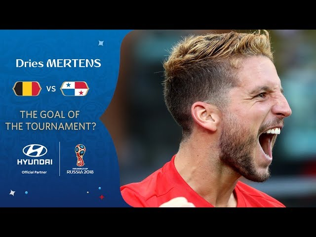 Dries MERTENS goal vs Panama   2018 FIFA World Cup   Hyundai Goal of the Tournament Nominee