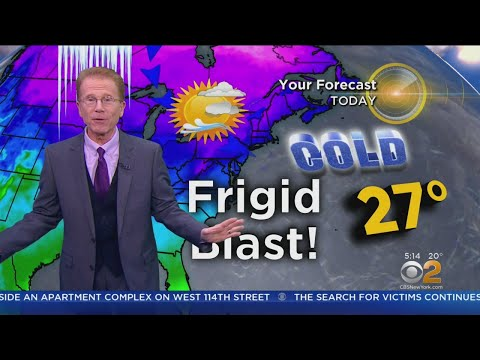 New York Weather: Breezy, Bitterly Cold