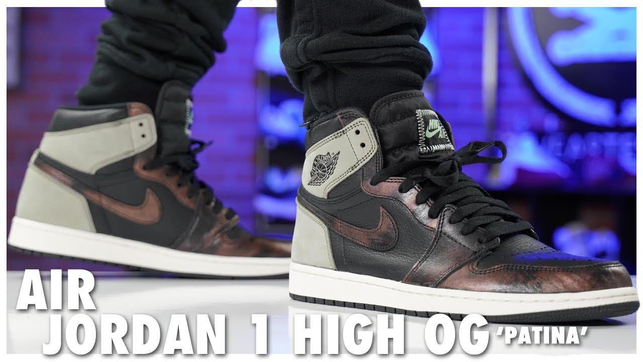 Download Air Jordan 1 High OG Patina