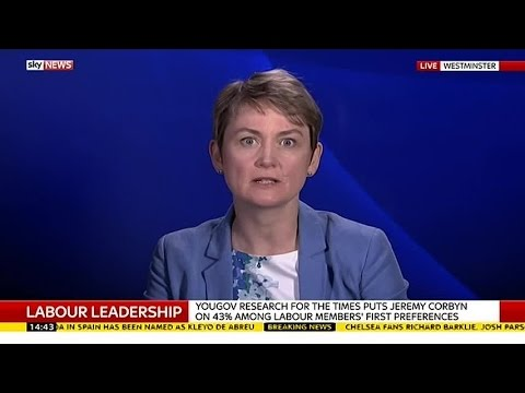 Yvette Cooper On Labour Leadership Election