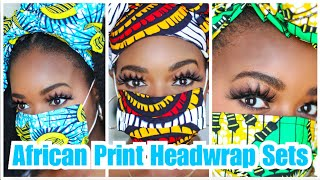 African Print Head Wrap Sets | Nkeoma By Ivy & Livy - Ify Yvonne