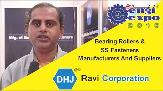 Best Bearing Rollers and SS Fasteners | Manufacturers And Suppliers in Rajkot